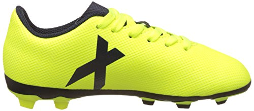 adidas X 17.4 FxG - Zapatillas de Fútbol Unisex Niños Multicolor (Solar Yellow/legend Ink /legend Ink )
