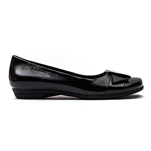 Clarks Discovery Dime Black Patent negro