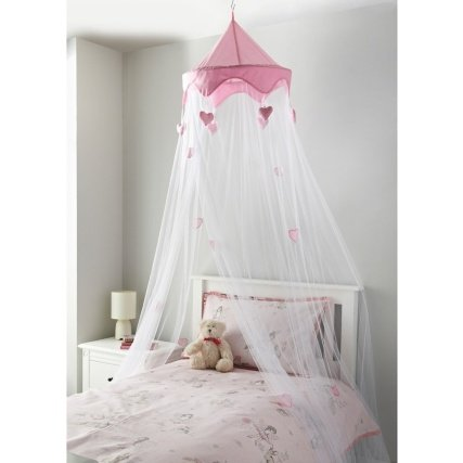 A2Z Home Solutions® Gorgeous Bed Canopy Round Dome Mosquito Net Bed Play Tent Room Decoration (Pink) Home 35445