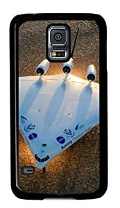 Boeing Aircraft Concept Samsung Galaxy S5 Black Sides Hard Shell Case by Sakuraelieechyan