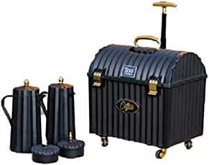 Host Thermos Set with A travelling box- Black Color