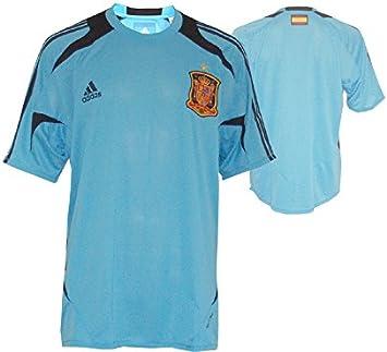 adidas - Camiseta de entrenamiento España / Real Camiseta, Camiseta, Camiseta, Light Alaska / Punjab 10 (XL): Amazon.es: Deportes y aire libre