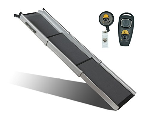 Solvit Deluxe Triscope Ramp With Free Dog Training Clicker