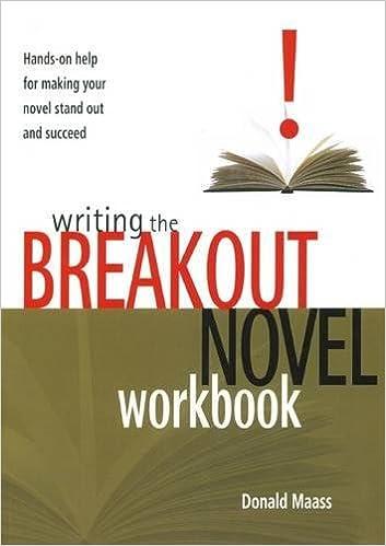 how to write a novel workbook
