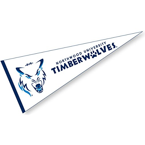 Northwood Timberwolves Pennant and 12