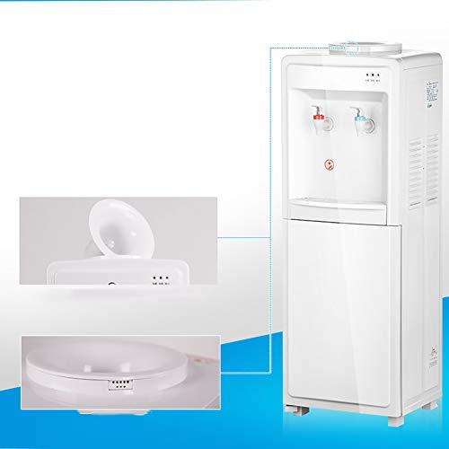 H&RB Calefacción Casera del Dispensador Vertical del Agua Y Solo Dispensador del Agua De Enfriamiento De La Oficina Ahorro De Energía, Hielo/Warm, ...