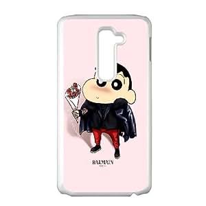 LG G2 Cell Phone Case White_Crayon Shin chan Cute Cartoon FY1379955