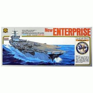 - Arii-03 618035 USS Aircraft Carrier Enterprise CVN-65 1/800 scale kit (Microace)