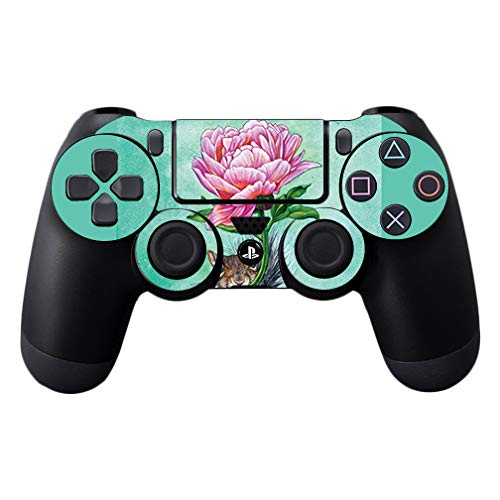 MightySkins Skin Compatible with Sony PS4 Controller - Lovely Squirrel | Protective, Durable, and Unique Vinyl Decal wrap Cover | Easy to Apply, Remove, and Change Styles | Made in The USA