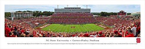 North Carolina State Football - Day - Blakeway Panoramas Unframed College Sports Posters