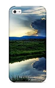 LJF phone case New Arrival iphone 5/5s Case Earth Landscape Case Cover