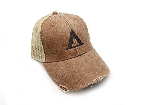 Trucker Hat - Campsite - Adjustable Men's/Unisex Distressed Trucker Hat - 2 Color Options Available