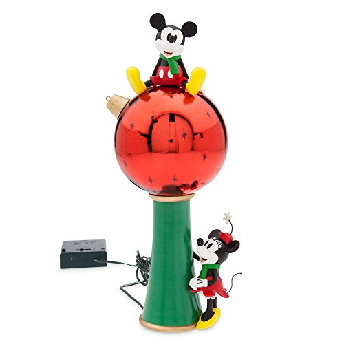 Disney Mickey and Minnie Mouse Light-Up Tree Topper (Tree Toppers Disney)
