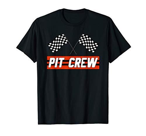 PIT CREW Race Car T Shirt - Hosting Parties T-Shirt]()