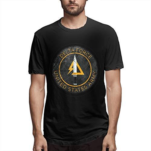 Insignia Folder - Delta Force Vintage Insignia T-Shirt Men T-Shirt Black