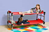 Disc-O-Bed Kid-O-Bunk with Organizers - Red