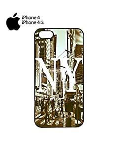 New York NY Retro Mobile Cell Phone Iphone 5C&4s White