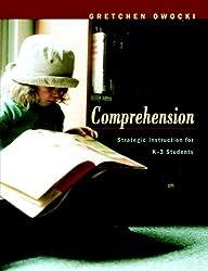 Comprehension: Strategic Instruction for K-3 Students