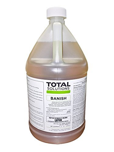Total Solutions Banish Weed Killer - 4 Gallon case (Makes 40 gallons)