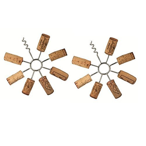 Remake It! Wine Cork Trivet - DIY Recycling with your Wine Corks! (Set of 2 Trivets) ()