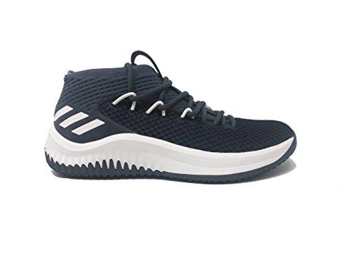Adidas Dame 4 Nba Scarpe Da Uomo Da Basket Onix-bianco