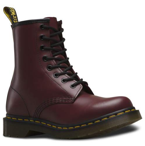 Dr. Marten's Women's 1460 8-Eye Patent Leather Boots, Cherry Red Rouge Smooth, 6 F(M) UK / 8 B(M) US Women / 7 D(M) US Men