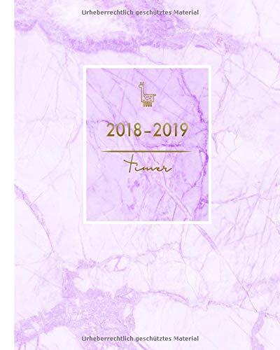 2018-2019: modischer Planer mit Marble-Design, von August 2018 bis Juli 2019, 20 x 25 cm, 1 Woche 2 Seiten (Organizer und mehr, Band 1) Taschenbuch – Großdruck, 3. September 2018 Papeterie Collectif Independently published 1720044600 Architecture / Annuals