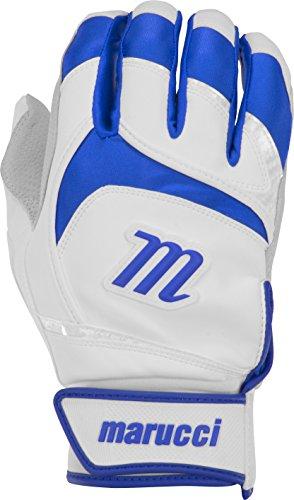 (Marucci Adult Signature Baseball Batting Gloves, Royal Blue, Large)