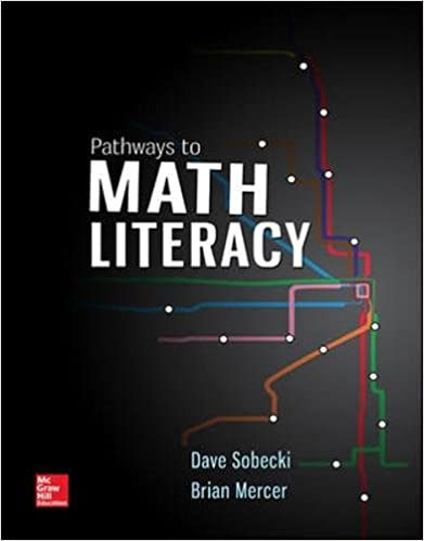 Pathways to math literacy loose leaf david sobecki professor pathways to math literacy loose leaf 1st edition fandeluxe