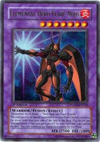 Yu-Gi-Oh! - Elemental Hero Flare Neos (POTD-EN032) - Power of the Duelist - 1st Edition - Ultra Rare