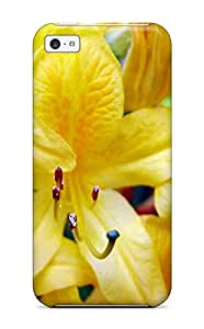 For Iphone 5c Tpu Phone Case Cover(yellow Flowers )