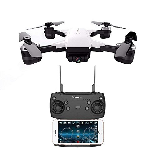 YOUDirect Quadcopter, YH-19HW WiFi FPV 2.0MP Camera Foldable 2.4G 6-Axis Selfie Quadcopter Drone Toys - Great Gift (White)