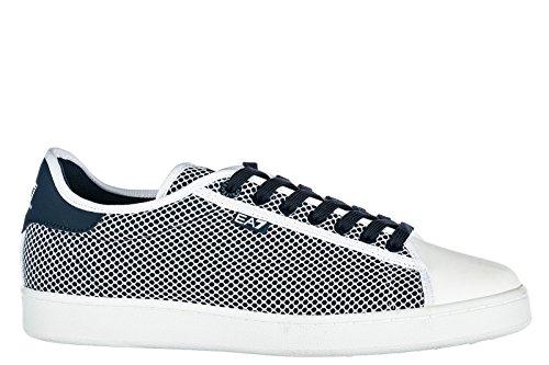 Emporio Armani EA7 Herrenschuhe Herren Schuhe Sneakers Classic Sea World Blu