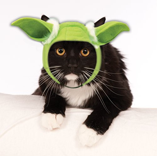 Rubie's Costume 35319 Co Star Wars Classic Yoda Cat Headpiece, One Size