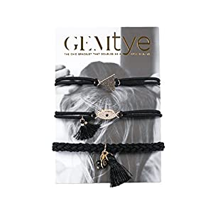 Gemtye Future Eyes Hair Ties/Bracelets - Set of 3