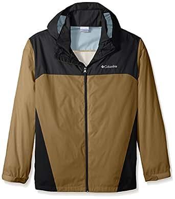 Columbia Men's Big & Tall Glennaker Lake Packable Rain Jacket,Delta/Black,Large Tall