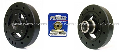 PIONEER Harmonic Balancer Damper+BOLT for Chevy SB 283 305 327 350 383 6