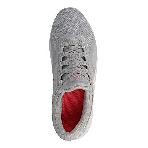 Nike Air Max Nul Essentieel Gs Running Trainers 881.229 Schoenen Van De Grijs-roze-wit