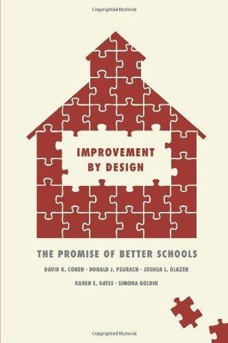 by Cohen, David K., Peurach, Donald J., Glazer, Joshua L., Gate Improvement by Design: The Promise of Better Schools (2013) Paperback