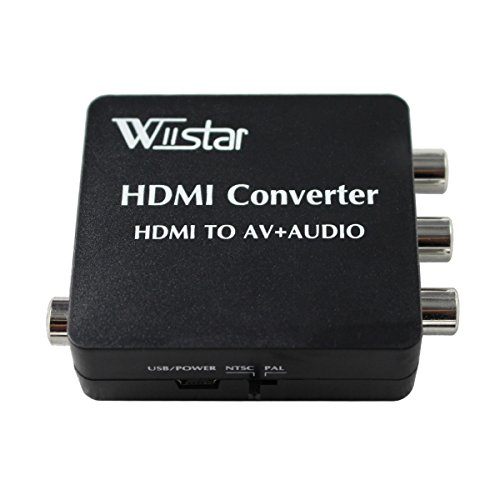 Wiistar Converter Support Coaxial Blue ray product image