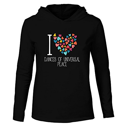 Peace And Love Hooded T-Shirt - 6