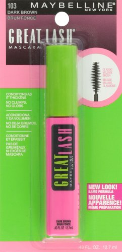 maybelline makeup great lash washable mascara dark brown volumizing mascara fl oz buy. Black Bedroom Furniture Sets. Home Design Ideas