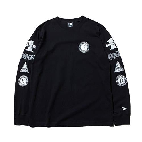 (ニューエラ) NEW ERA Tシャツ 長袖 DOLLAR ブラック M
