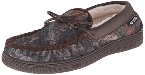 Camouflage Men's Moccasin Slippers made our list of camping gifts couples will love and are the best gifts for couples who camp in tents or RVs including awesome gifts for people who love camping with their friends and families!