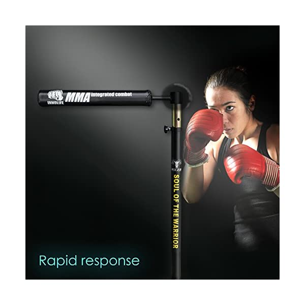 INNOLIFE MMA Boxing Speed Trainer Punching Bag Spinning Bar 6