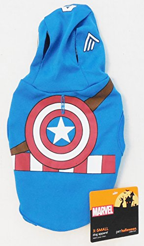 Pet Halloween Collection (Captain America Dog)