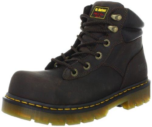 R14126 ST Martens Dr Gaucho Men's black Boots Volcano Industrial BURNHAM waqSP