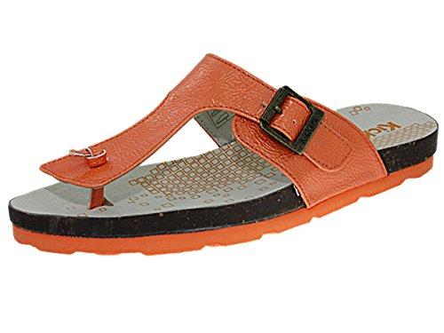 Chaussures Orange Femme Femme Kickers Ditik Vernis Orange Tong d53kick053 qaAwxIt6
