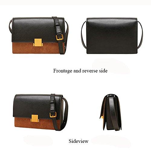 Retro Couture Main Sac épaule En Pour Black Femmes Black Cuir Les GAOQQ Shopping à Vacances Messenger Mode 5HdnWFq