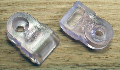 Tenn-Tex Glass Door Retainer Clips & Inserts, Retainer